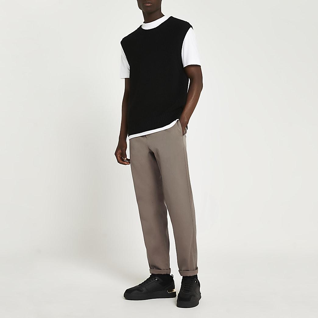 Stone premium chino trousers