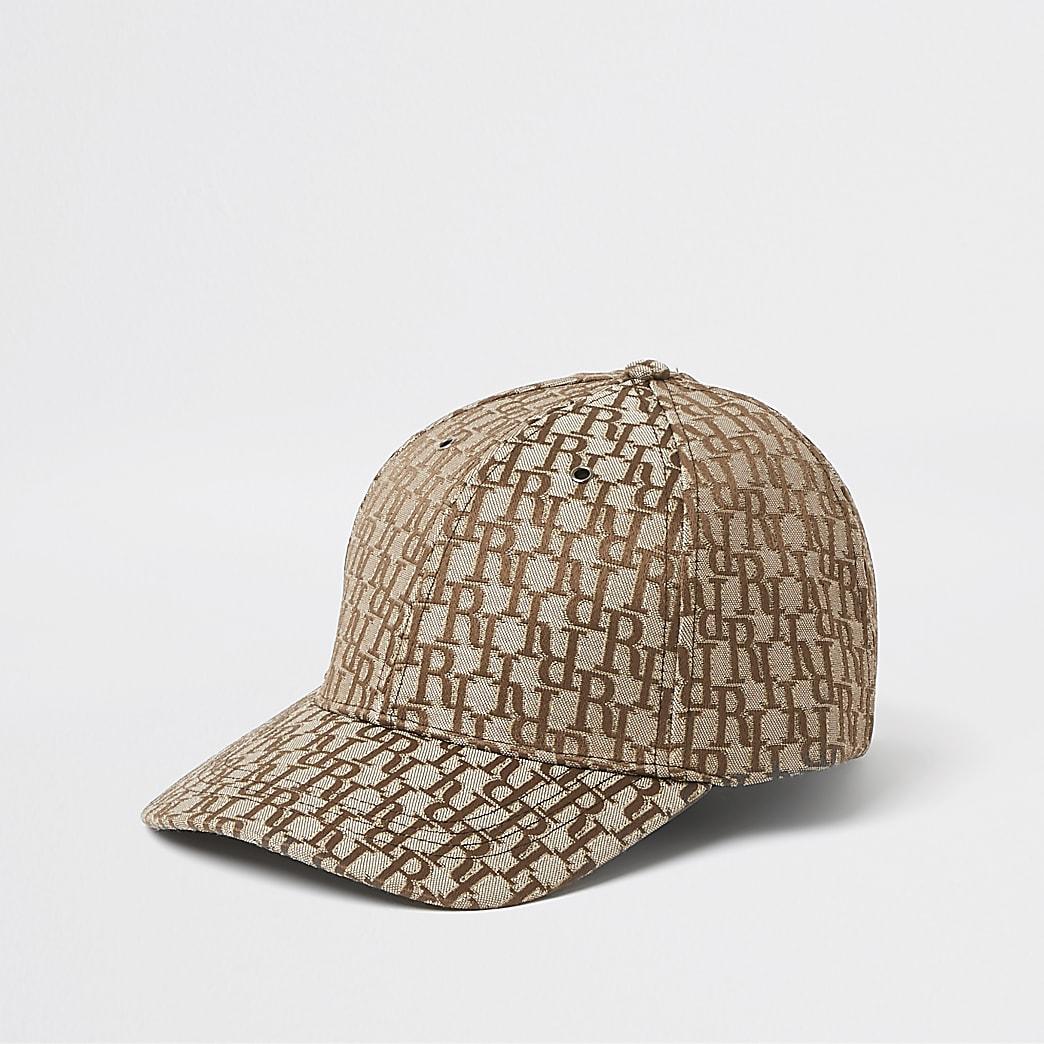 Stone RI monogram baseball cap