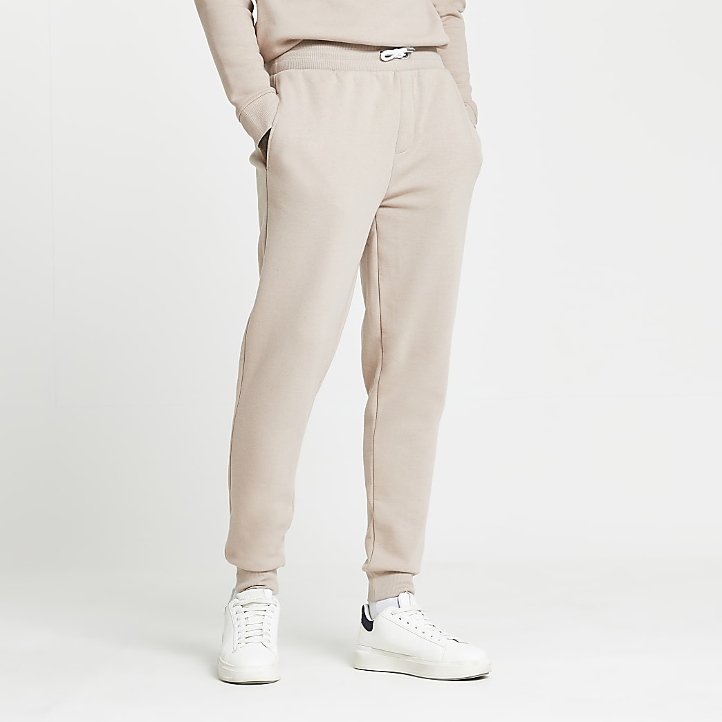 Stone RI slim fit joggers