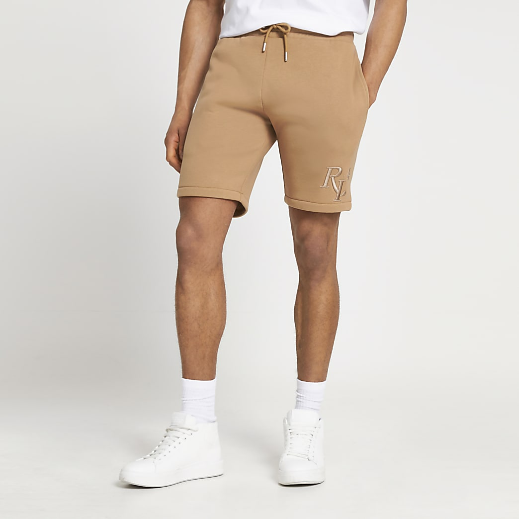 Stone RI4 slim fit shorts