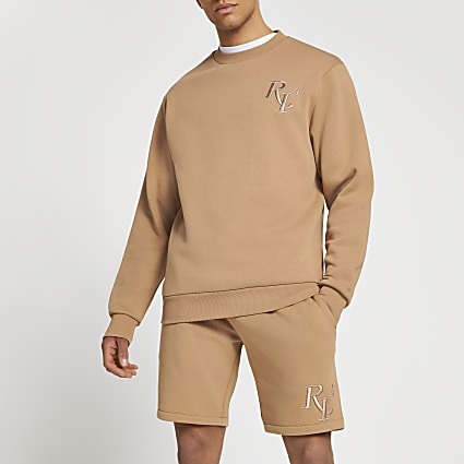 Stone RI4 slim fit sweatshirt