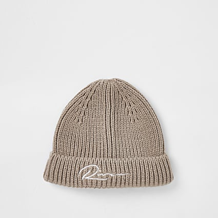 Stone river knitted docker beanie hat