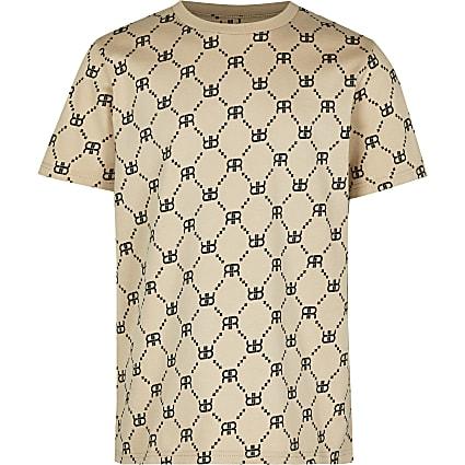 Stone RR monogram t-shirt