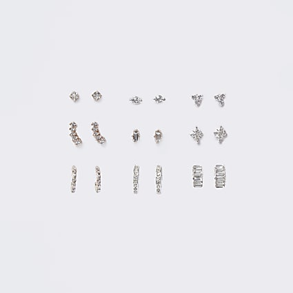 Stud And Hoop Earring Multipack