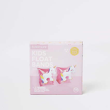 Sunnylife girls pink unicorn arm bands