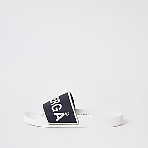 Superga - 7585 slipper met logoprint