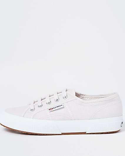 Superga pink classic canvas trainers