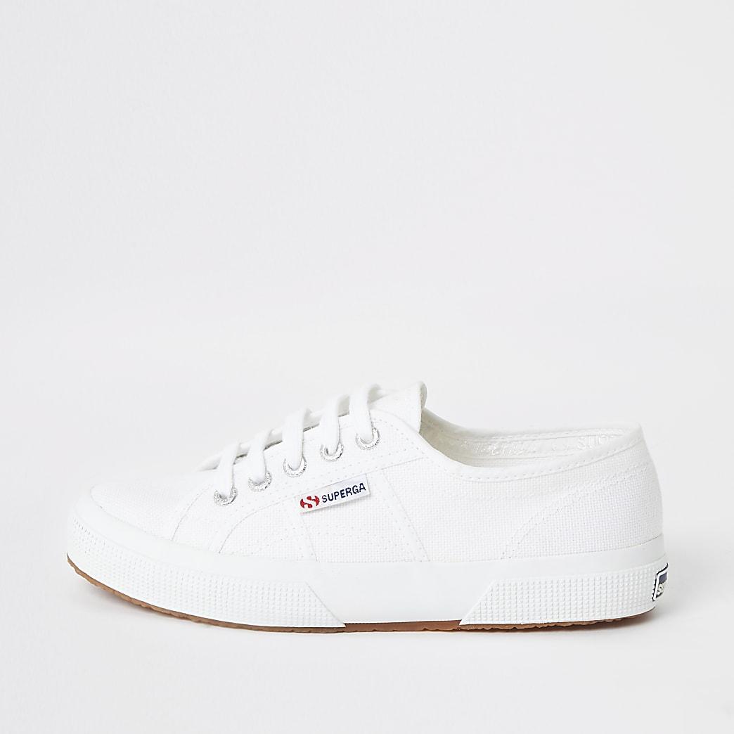 Superga - Witte klassieke hardloopschoenen