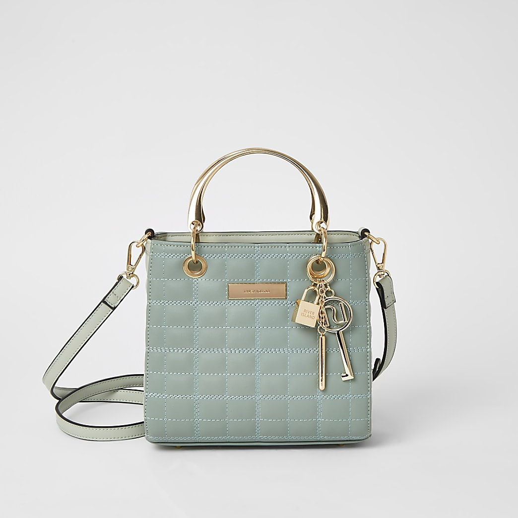 The Kennedy bag in green