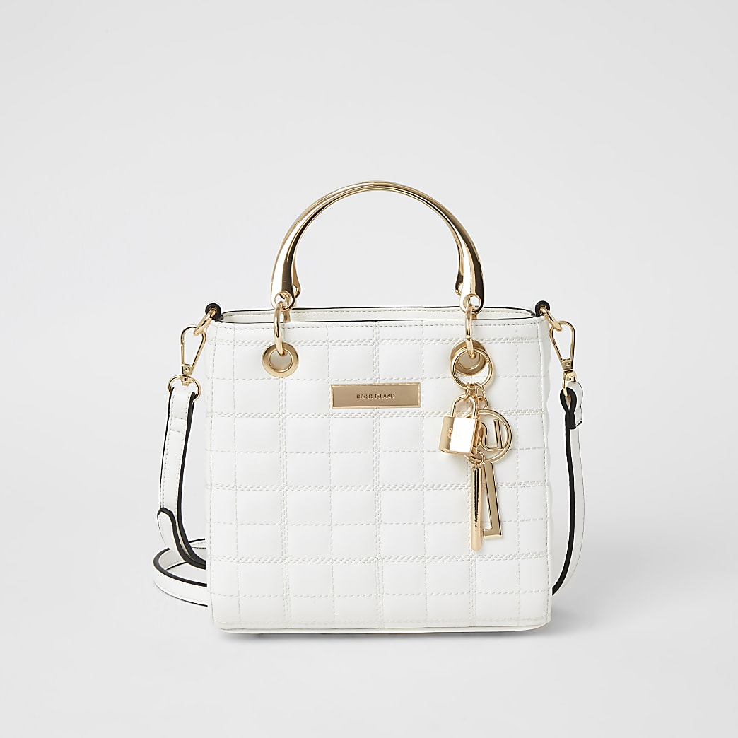 The Kennedy bag in white