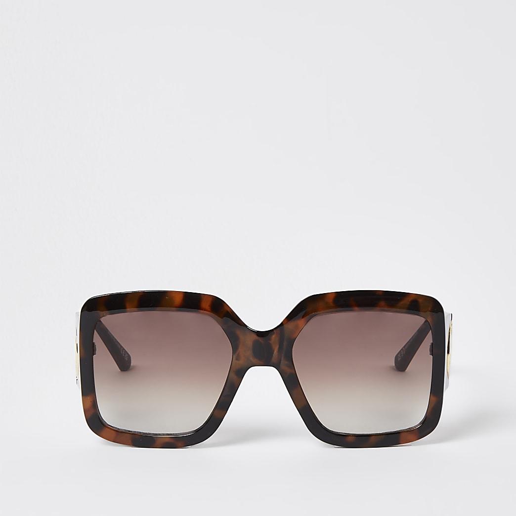 Tortoise RIR cutout sunglasses