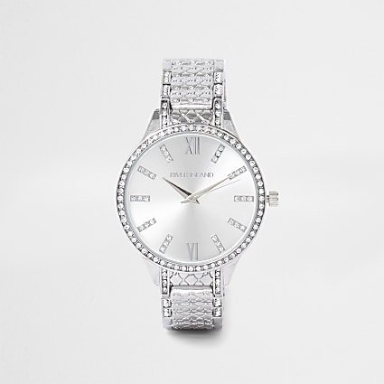 White - Bright Monogram Diam Bracelet Watch