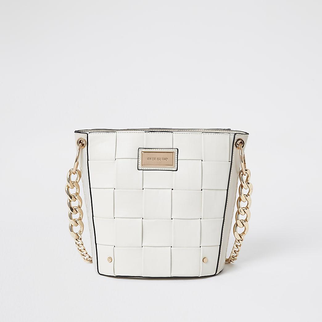 White 3869 Woven Bucket