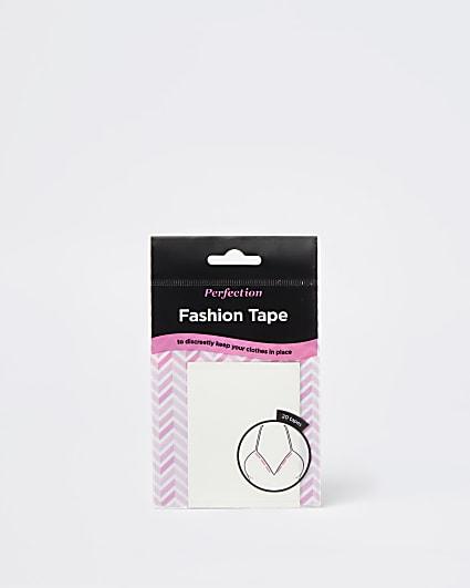 White fashion tape
