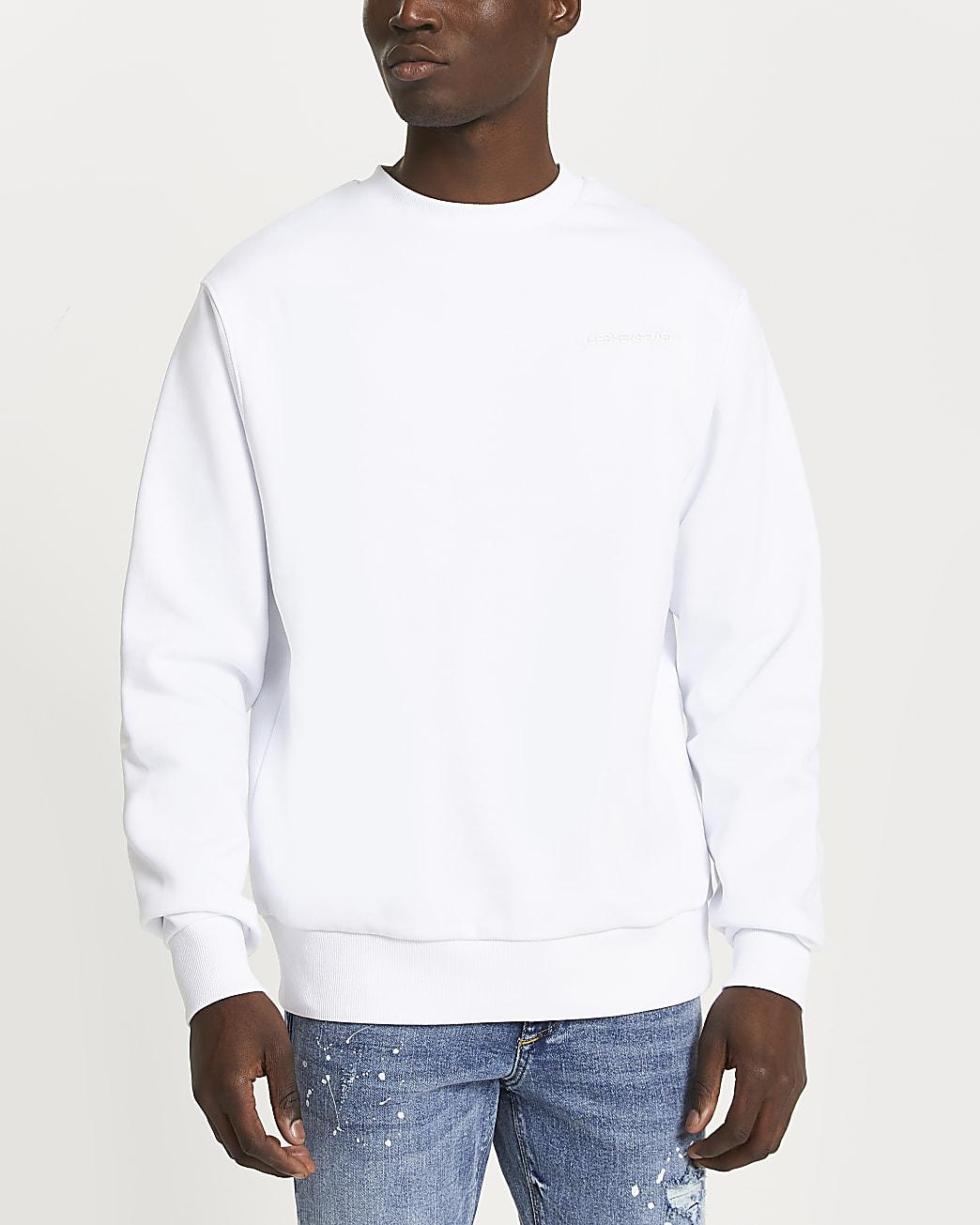 White 'Les Ensemble' sweatshirt