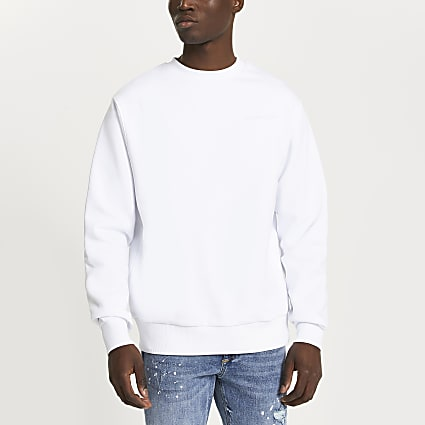 White 'Les Ensemble' sweatshirt