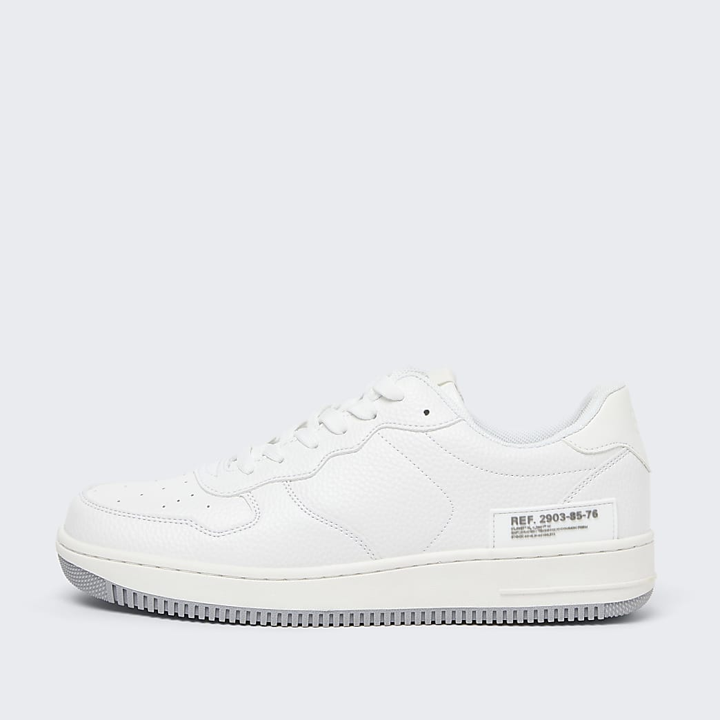 White low court trainers
