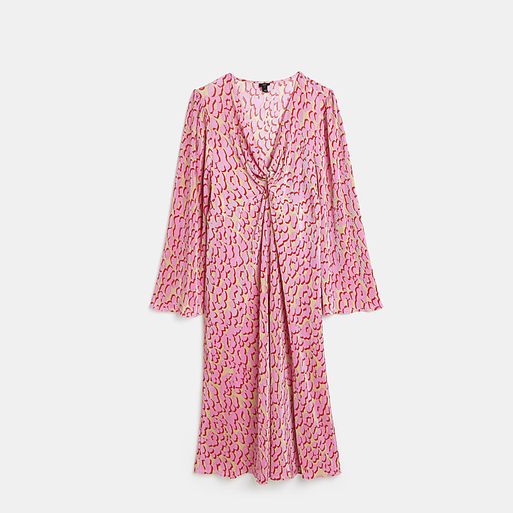 White Ls Frill neck blouse