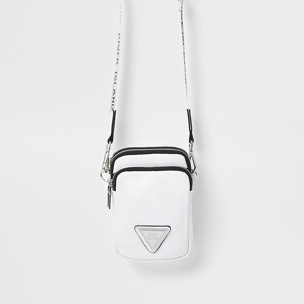 White mini cross body Handbag