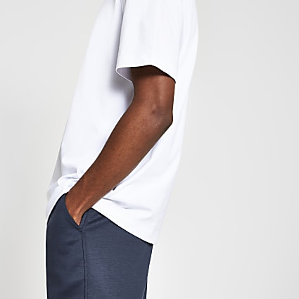 White premium oversized fit T-shirt