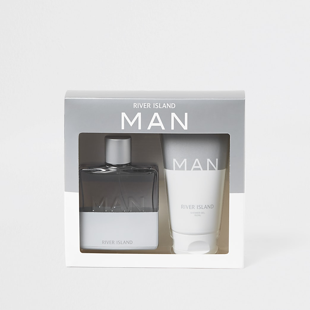 White RI Man Sport fragrance set