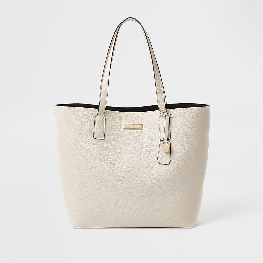 White shopper tote Handbag