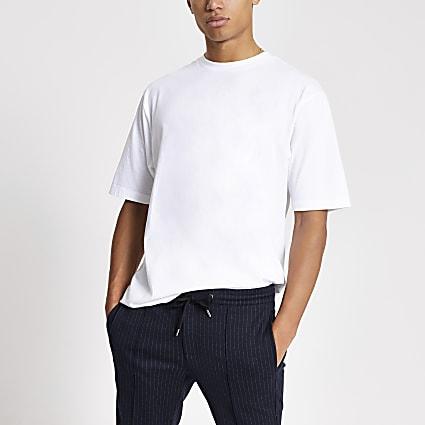 White short sleeve oversized T-shirt