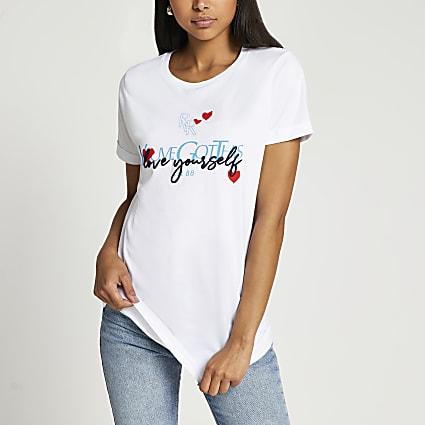 White short sleeve 'You've got this' t-shirt