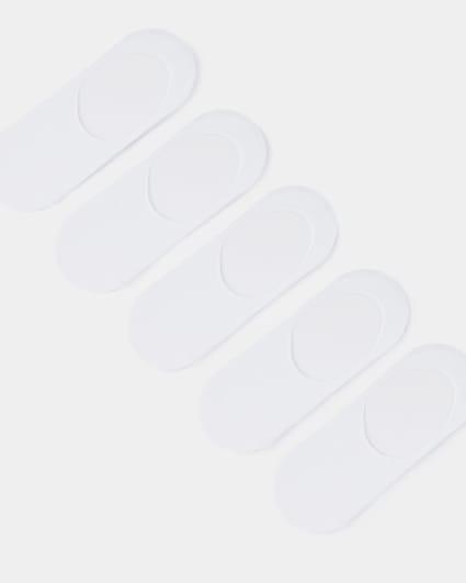 White trainer socks 5 pack