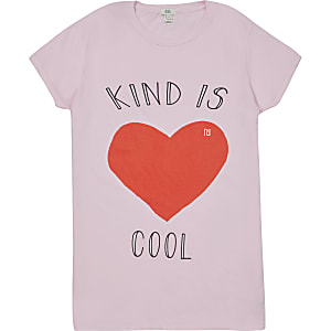 T-shirt charité pour femme 'Kind Is Cool'