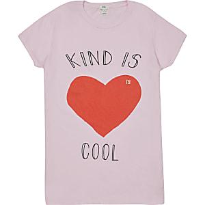 Liefdadigheids-T-shirt voor dames 'Kind is Cool'