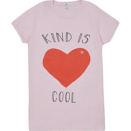 Womens Charity Tee 'Kind Is Cool'