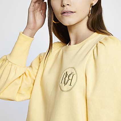 Yellow long sleeve RVR sweatshirt