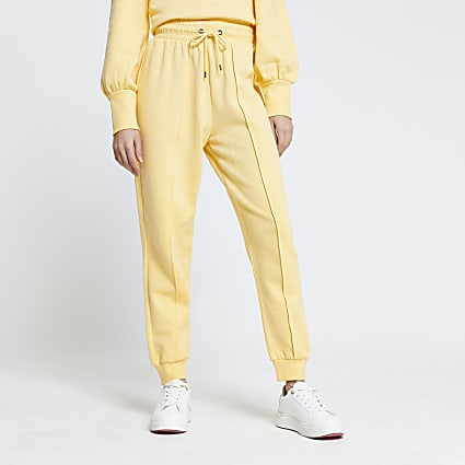Yellow seam detail RI joggers